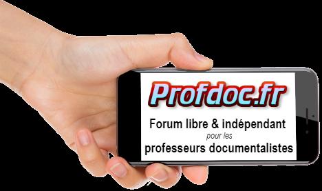 Forum des professeurs documentalistes Profdoc.fr